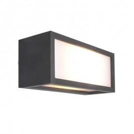 Aplique exterior rectangular 1L