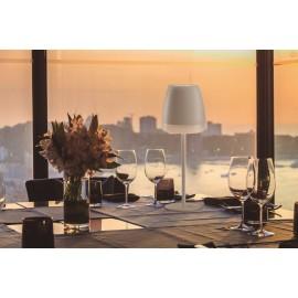 Lámpara de mesa 2W exterior recargable
