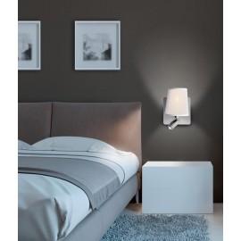 Aplique LED Níquel-mate 2 L
