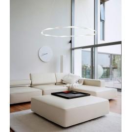 Lampara de aro en blanca 46w diámetro 1080mm