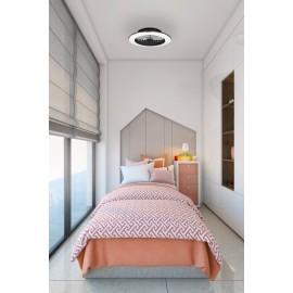 Ventilador de techo Mini Alisio con luz regulable